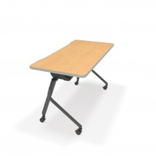 "Mesa Series Nesting Training Table/Desk 23.50"" x 47.25"", Oak"