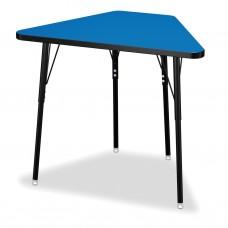 Berries® Tall Trapezoid Desk - Blue/Black/All Black
