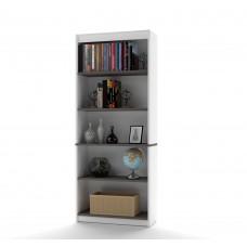Innova Bookcase in White and Antigua
