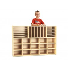 Young Time® Sectional Cubbie Storage - without Trays