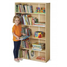 Young Time® Tall Adjustable Shelf Bookcase