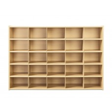 Young Time® 25 Cubbie-Tray Storage - without Trays