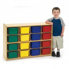 Value Line™ 16-Tray Storage with Multi-Colored Trays