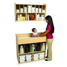 Value Line™ Wall Diaper Shelf