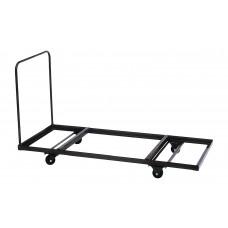 Flat Stacking Rectangular Table Truck - 30x72