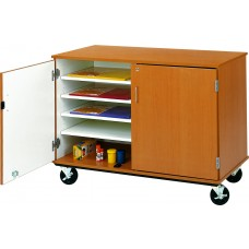 "36"" Tall - Closed Paper Storage w/ Lock"