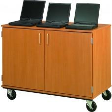 "36"" Tall - Closed Locking Laptop Storage"