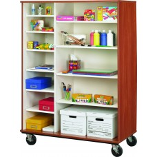 "67"" Tall - Open Shelf Storage"