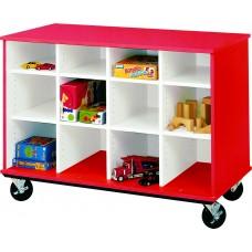 "36"" Tall - Open Cubbie Storage"