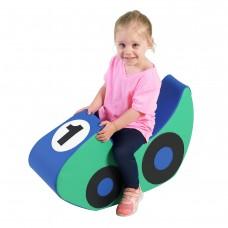Rocking Racecar - Blue/Green