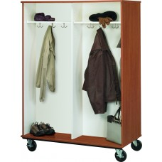 """67"""" Tall - Double Sided Open Coat Storage"""