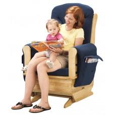 Jonti-Craft® Glider Rocker - Blue Cushions