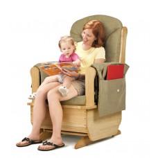 Jonti-Craft® Glider Rocker - Olive Cushions