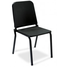 Black Plastic Melody Stack Chair