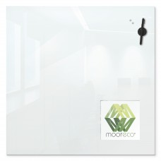 Customizable Magnetic Dry Erase Glass Whiteboard (30X30) - Insert Board