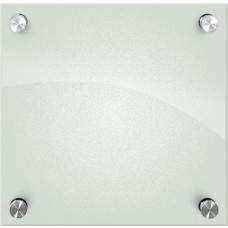 Enlighten Frosted Pearl, Non-Magnetic Glass Boards 1X1