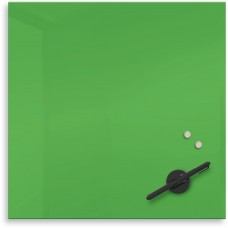 """Mosaic Magnetic Glass Markerboard - Green (16X16"""")"""
