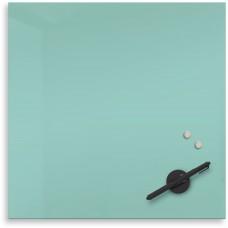 "Mosaic Magnetic Glass Markerboard - Aqua (16X16"")"