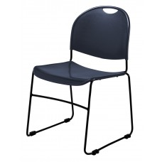 Navy Blue Commercialine Stack Chair