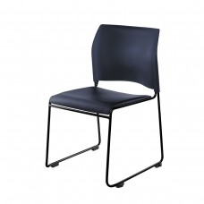 Blue Vinyl Seat Cafetorium Stack Chairs