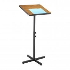 Adjustable Speaker Stand - Medium Oak
