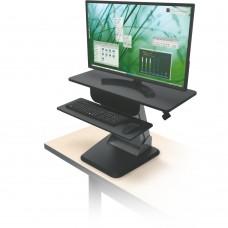 Desktop Sit To Stand Workstation, Black