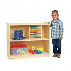 "Value Line™ Birch 36""L Stationary 2-Shelf Storage"