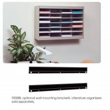 E-Z Stor® Wall Mounting Bracket - Black