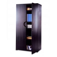 "OfficeWorks 72"" Storage Cabinet - Black"