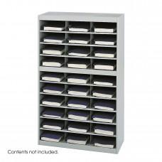 E-Z Stor® Steel Project Organizer, 30 Compartments - Gray