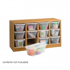 Supplies Organizer - Oak;Medium Oak