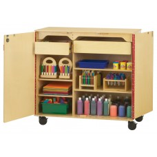 Jonti-Craft® Mega Supply Cabinet