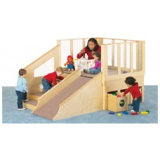 Jonti-Craft® Tiny Tots Loft - 12-24 Months - with Bins
