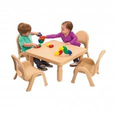 Toddler MyValue™ Set 4 Square - Natural Tan