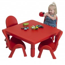Toddler MyValue™ Set 4 Square - Candy Apple Red