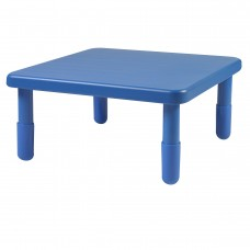 """Value 28"""" Square Table - Royal Blue with 14"""" Legs"""