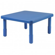 """Value 28"""" Square Table - Royal Blue with 16"""" Legs"""