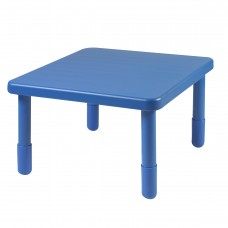 """Value 28"""" Square Table - Royal Blue with 18"""" Legs"""