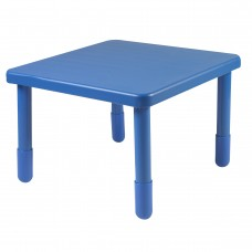 """Value 28"""" Square Table - Royal Blue with 20"""" Legs"""