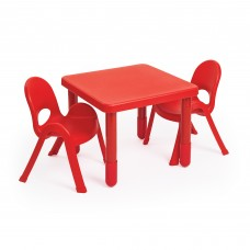 Preschool MyValue™ Set 2 Square - Candy Apple Red