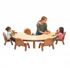 BaseLine® Toddler Kidney Table & Chair Set - Teal Green