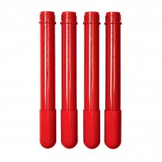 """Extra Table Legs 4 Pack - Candy Apple Red 22"""" Legs"""