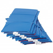 "Germ-Free 1"" 3-Section Rest Mat - 10 Pack"
