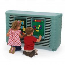SpaceLine® Activity Center with Space line® Cots - Teal Green