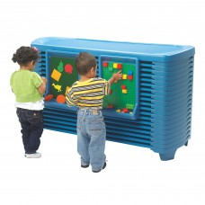 SpaceLine® Activity Center with Space line® Cots - Ocean Blue