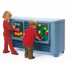 SpaceLine® Activity Center with Space line® Cots - Wedgewood