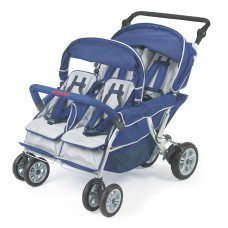 SureStop™ Folding Commercial Bye-Bye® Stroller 4 Passenger