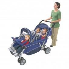 SureStop® Folding Commercial Bye-Bye® Stroller 6 Passenger