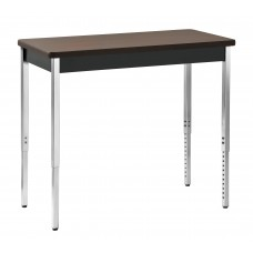 Sandusky® 40x20x29,Tables:Activity / Utility Tables, Black/Walnut