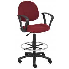 Drafting Stool (B315-By) W/Footring And Loop Arms
